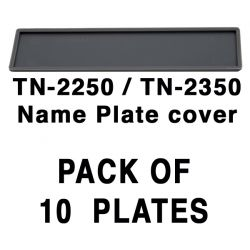 TN-2250 / TN-2350 Name Cover plate x 10 units
