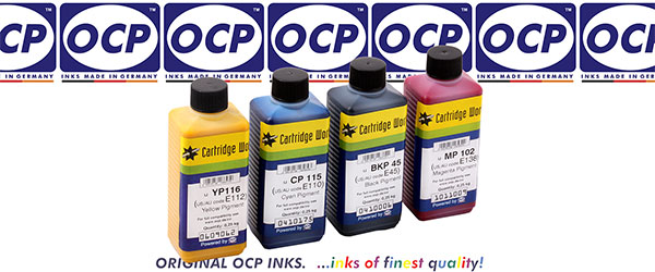 OCP  ink bottles